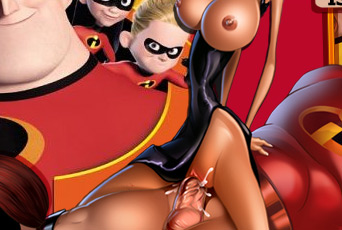 Incredibles mom porn
