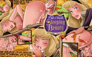 xxx Sleeping comics beauty